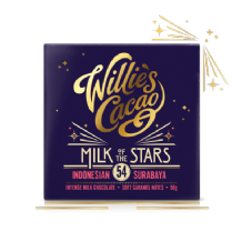 Willie's Cacao Milk Of The Stars Milk Chocolate 50g